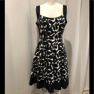 Maggy London fit and flare dress